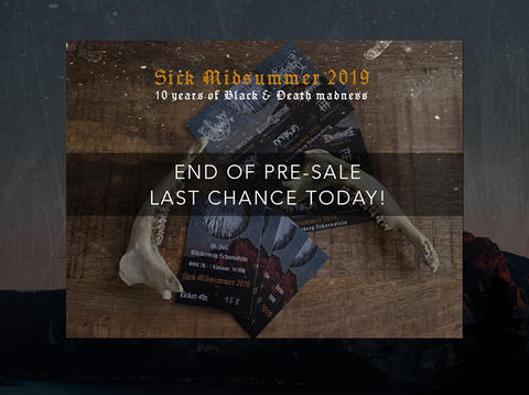 End of Pre-Sale - final call!