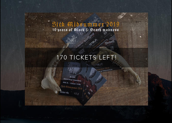 170 TICKETS LEFT!